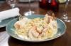 Fettuccini Shrimp Alfredo