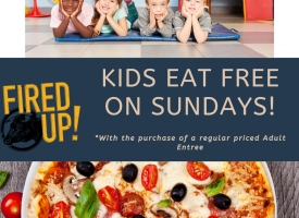 KIds Eat Free on Sundays!