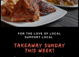 TAKEAWAY SUNDAY THIS WEEK FOR MOTHERS DAY